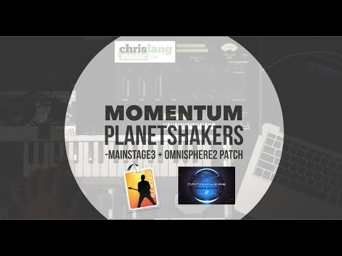 MOMENTUM Planetshakers Mainstage Omnisphere 2 Patch keyboard lesson