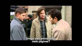 Supernatural Erros de Gravação da 6ª Temporada Legendados em PT-BR