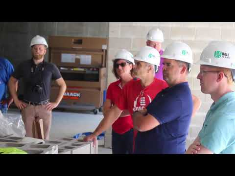 Marshalltown High School Roundhouse Phase II progress