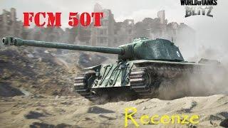 World of Tanks Blitz CZ - FCM 50t - recenze + jak se správně úhlovat