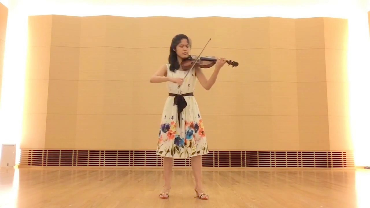 Beethoven: Romance No. 1 in G Major for solo violin