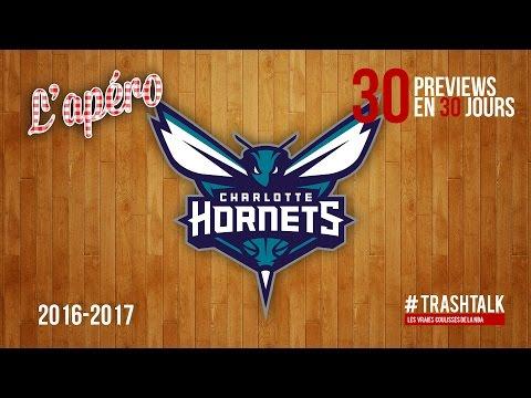 Apéro TrashTalk - Preview saison 2016/17 : Charlotte Hornets