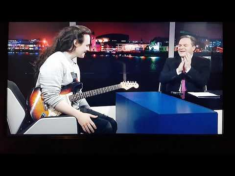 Best new guitarist in the world 2018 Chris Buck Itv Wales News