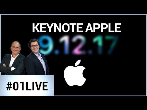 01LIVE spécial iPhone : la Keynote d'Apple commentée en direct !