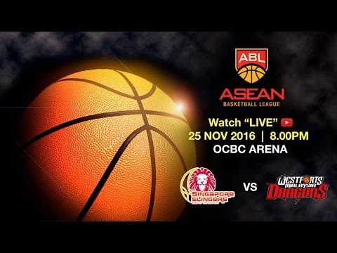 Singapore Slingers vs Westports Malaysia Dragons | ASEAN Basketball League 2016 - 2017