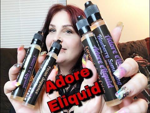 ELIQUID REVIEW   Adore Eliquid   Part 1