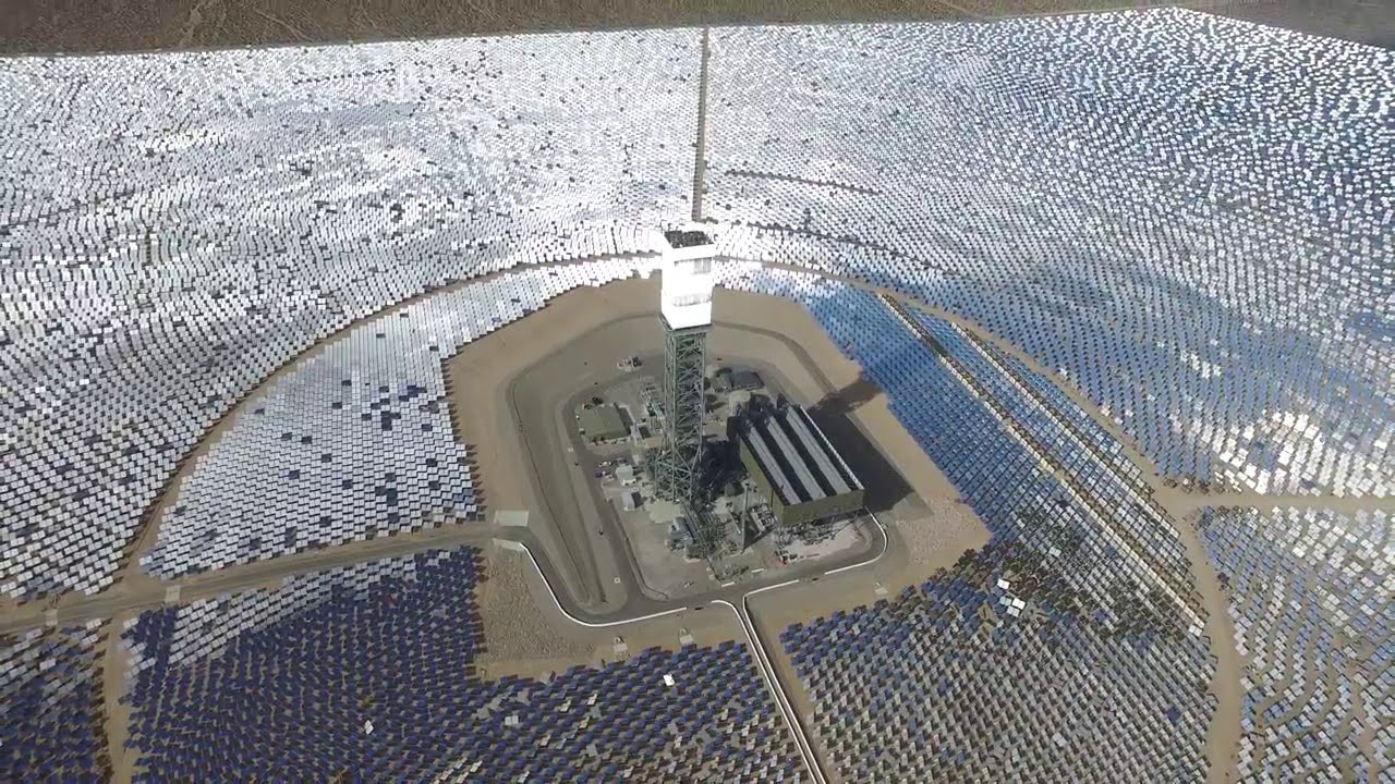 Ivanpah Solar Power Plant Youtube