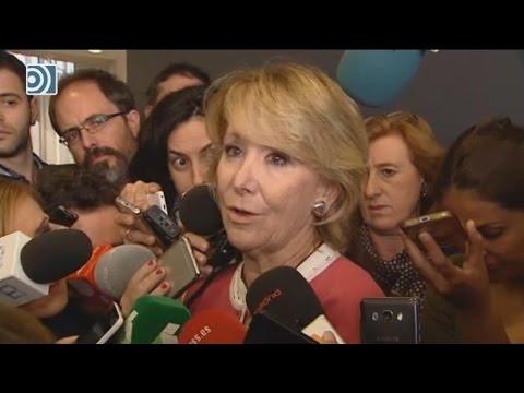 Aguirre rompe a llorar ante los medios al hablar de Ignacio González
