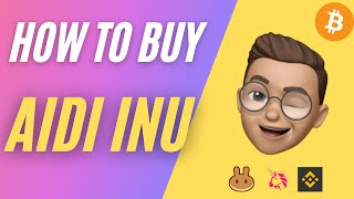 Aidi Inu Token AIDI Crypto ✅ How to Buy Aidi Inu Crypto AIDI Token on Uniswap