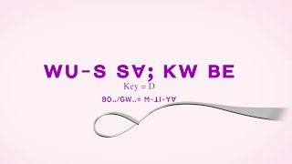 Lisu song lyrics ~ WU S SV; KW BE= (GW-. M THI YV;)