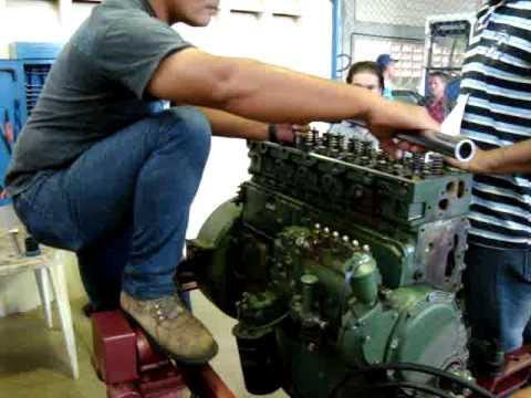 Montando motor MB OM-366. 06