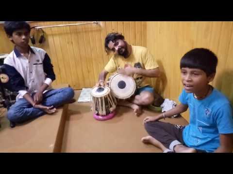 Amazing singing chandan kamble sons om abhi with sachin bhangre