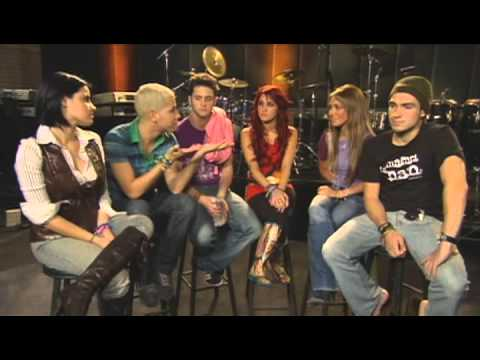 Interview with RBD's for 2006 Walmart Soundcheck