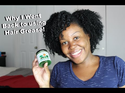 Hair Grease for My Natural Hair Works! | Nature's Blessings