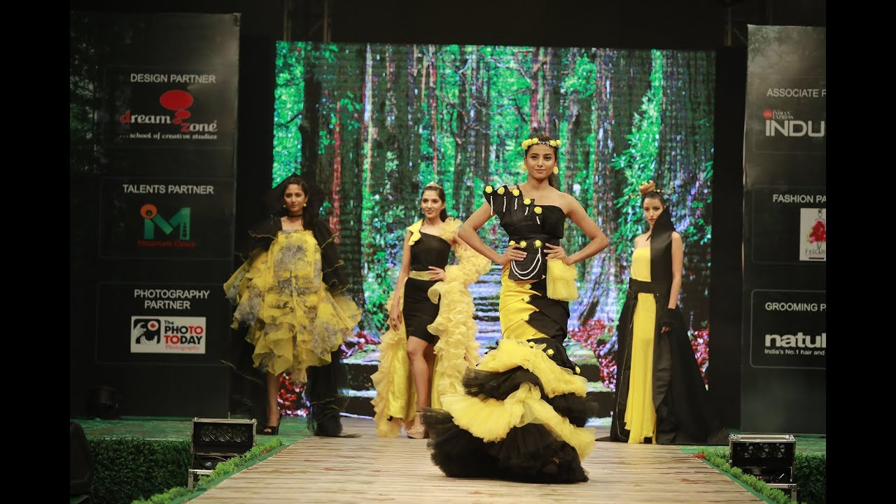Dreamzone Coimbatore Designers Presented Collection At Coimbatore Style Week 2019 Season 3 Youtube