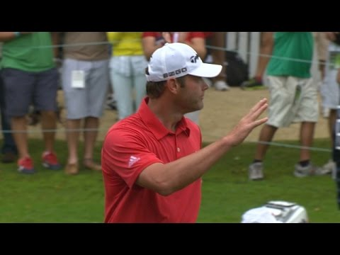 Shawn Stefani sinks 20-foot birdie on No. 18 at OHL Classic