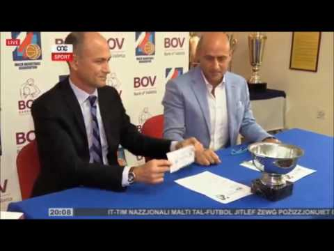 Bank of Valletta KO Draws Press Conference: Sport News Feature One Sport