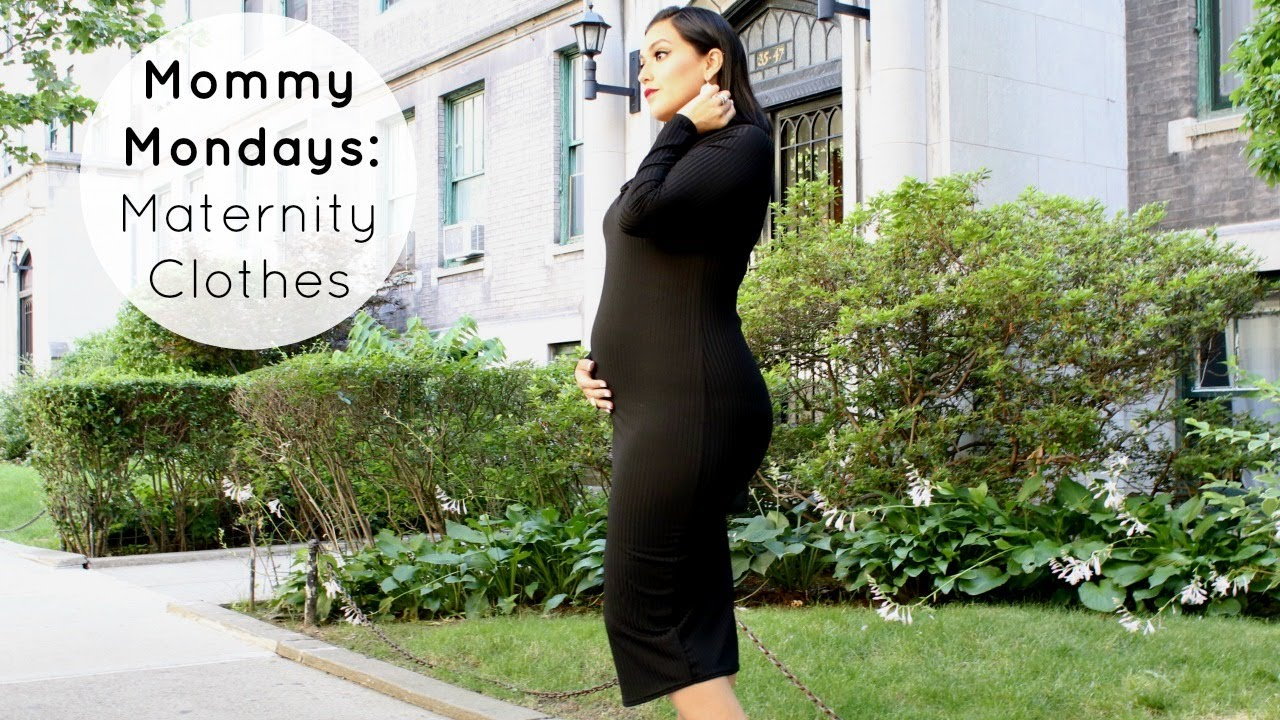 ecaeaf366d DON'T Buy Maternity Clothes Until You See This! Mommy Mondays #1 ...