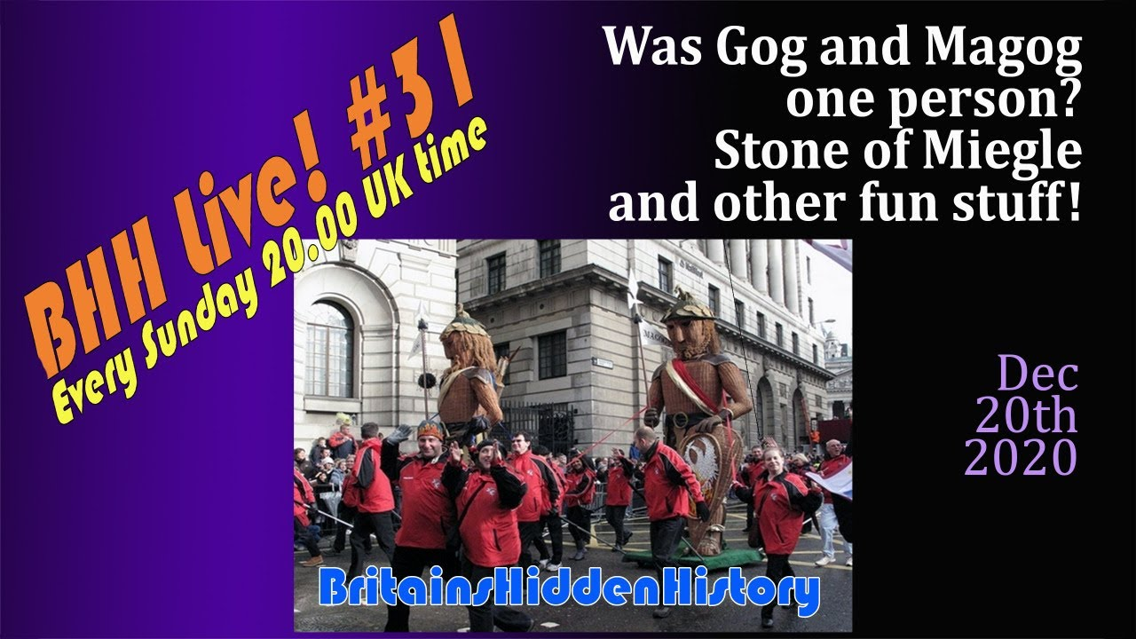 BHH Live 31 Gog and Magog, Miegle stone and more fun