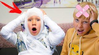 О НЕТ, что СЛУЧИЛИЛОСЬ с Сережей? Веселое видео Family kids