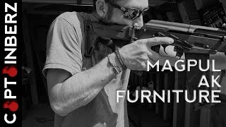 magpul ak moe zhukov handguard and folding stock first impressions