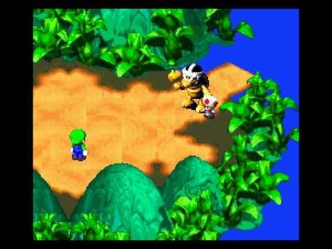 Super Luigi RPG (Mario RPG Hack) SNES