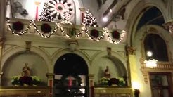 Midnight mass at st. Finbar's church in Brooklyn New York