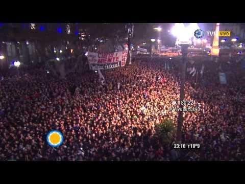 """Visión 7 - """"Molotov"""" en los festejos de la Revolución"""