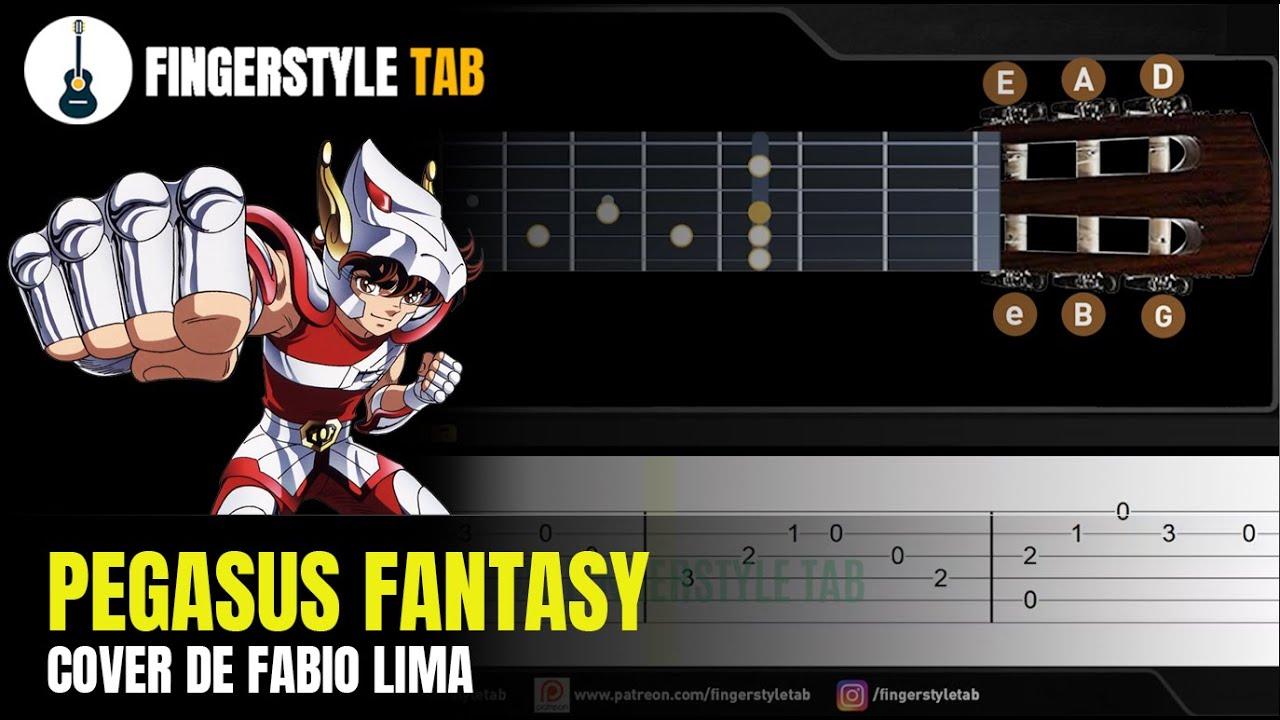 PEGASUS FANTASY - Arranjo Fingerstyle + Tablatura (Cover: Fabio Lima)