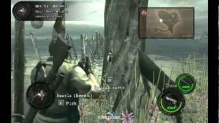 Chapter 3-1, Marshlands BSAA Emblems, Treasures & Weapons. [Resident Evil 5]
