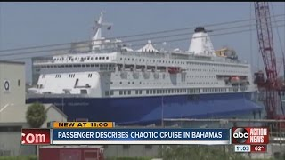 Halloween cruise ends in chaos, local woman says