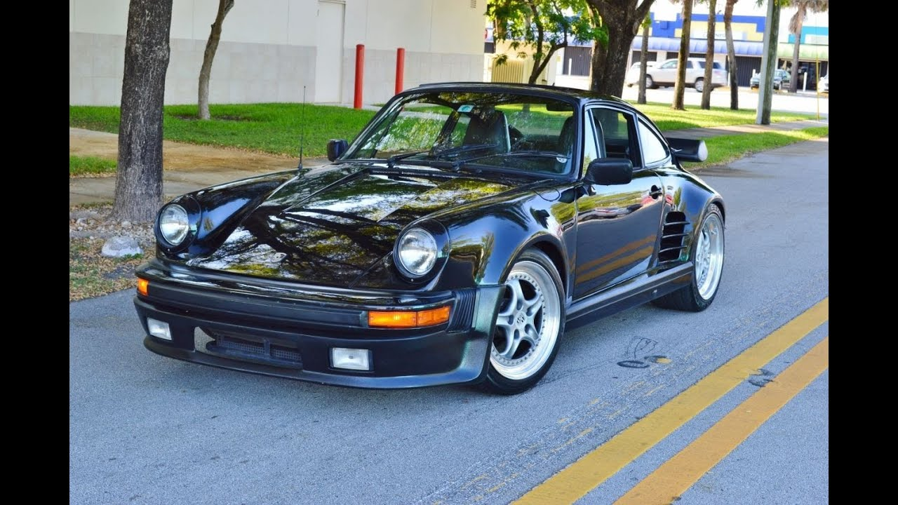 1988 porsche 911 turbo look g50 wide body for sale 305 988. Black Bedroom Furniture Sets. Home Design Ideas