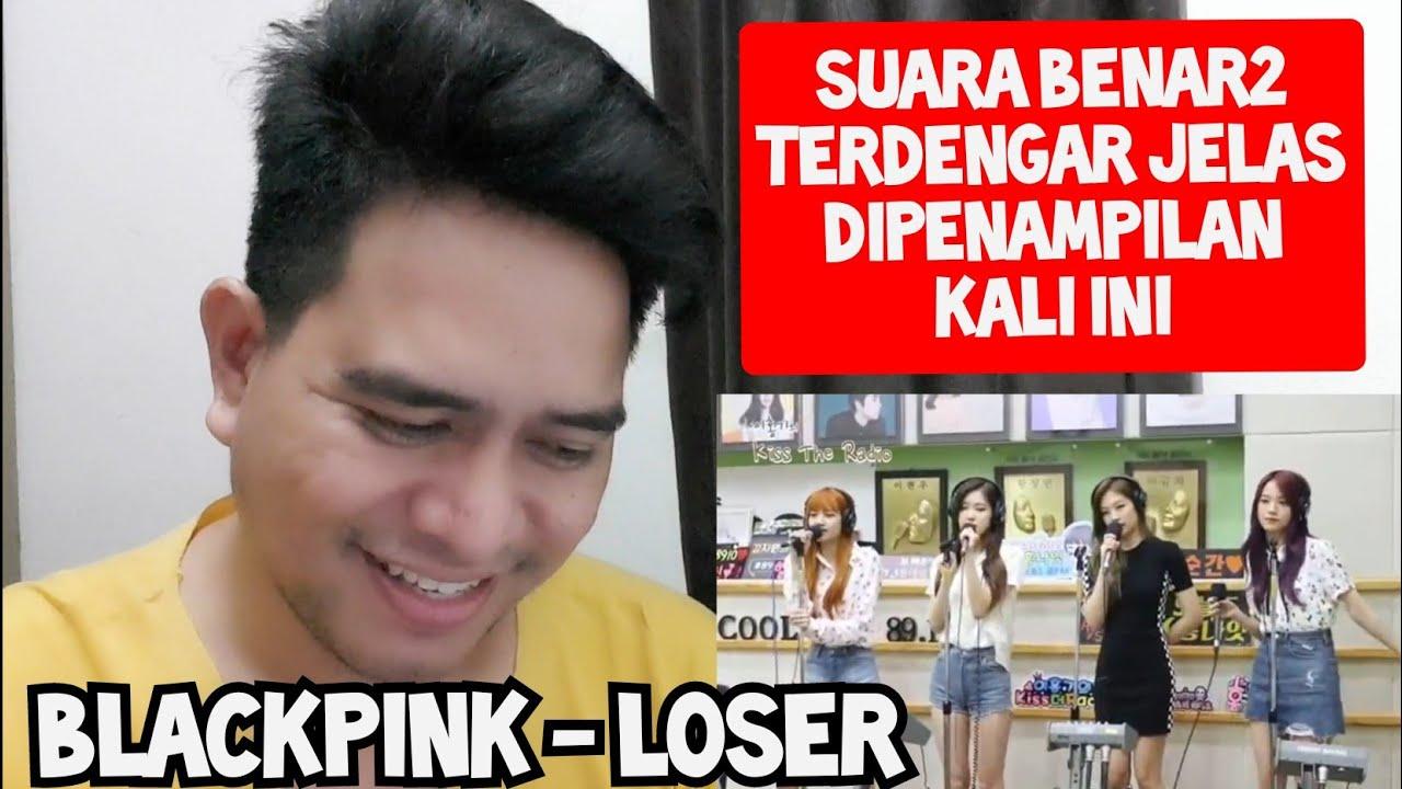 TANPA EFEK, INI SUARA MEREKA | BLACKPINK - LOSER (Reaction)