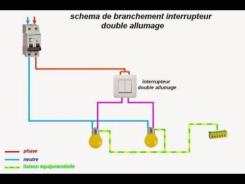 Schema Electrique Double Allumage Youtube