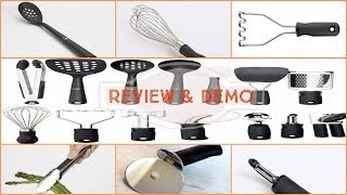 OXO 1069228 Good Grips 15-Piece Everyday Kitchen Tool Set - Review and demo 2019