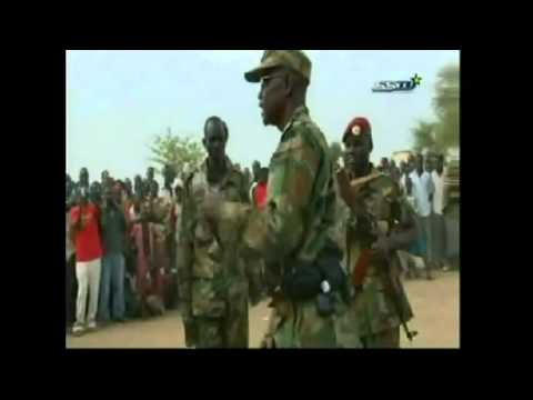 President Salva Kiir and vice president Riek Machar are ever ready for war if attacked By S
