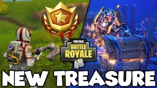 *NEW* SECRET TREASURE LOCATION: Fortnite Battle Royale Battle Pass Challenge Guide