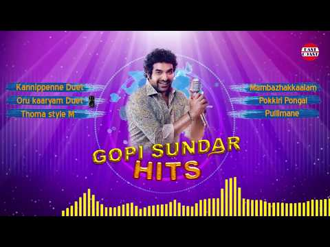Hits of Gopi Sunder |  Audio Juke Box | ...