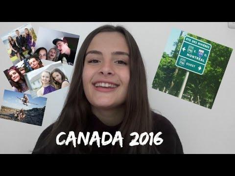 Mon voyage au Canada