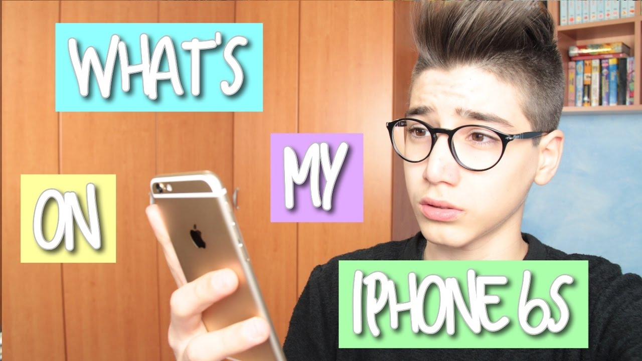Whats On My Iphone 6s Marco Cellucci Youtube