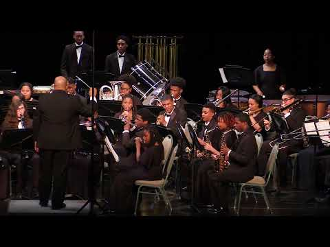 EE Smith HS Symphonic Band - Declaration Overture - Claude T. Smith