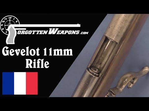 Gevelot 11mm Sliding-Chamber Pinfire Rifle thumbnail