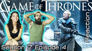 GAME OF THRONES Season 7 Episode 4 Reaction The Spoils Of War Part 1