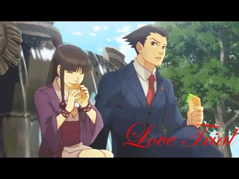 Ace Attorney [AMV] - Love Trial