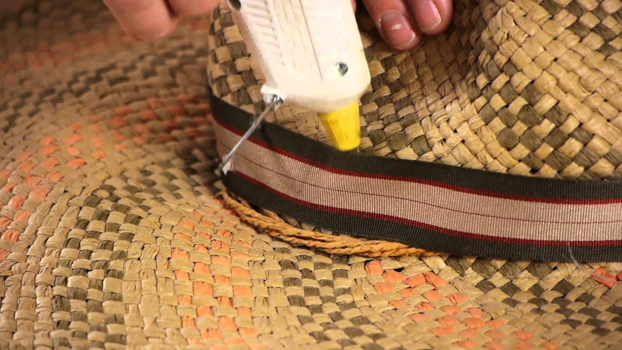 Craft Ideas With Straw Hats Fall Crafts