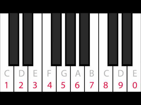 Interactive Piano Keyboard