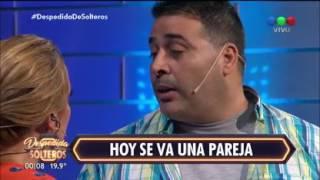 Matías agredió en vivo a Carina Zampini: ¡Mirá cómo respondió la conductora! - Despedida de Solteros