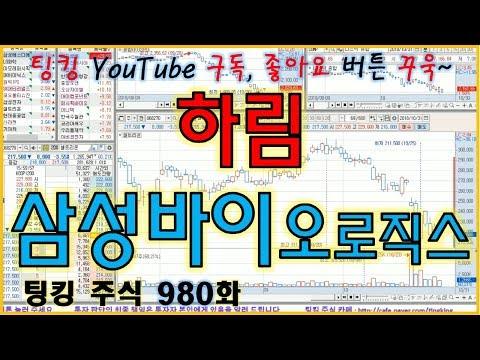 [대박종목] 하림, 삼성바이오로직스 - 주식 팅킹 (980화)