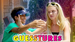 The Guesstures Game!  (Ivey vs Justin...  New Couple?)