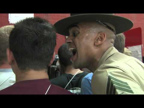 CBS 7 Marine Boot Camp, San Diego California, July 6th thru 10th -  Part 1